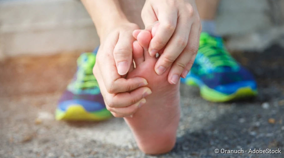 , Broken toe: signs, first aid, healing time